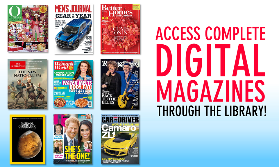 Access Complete Digital Magazines