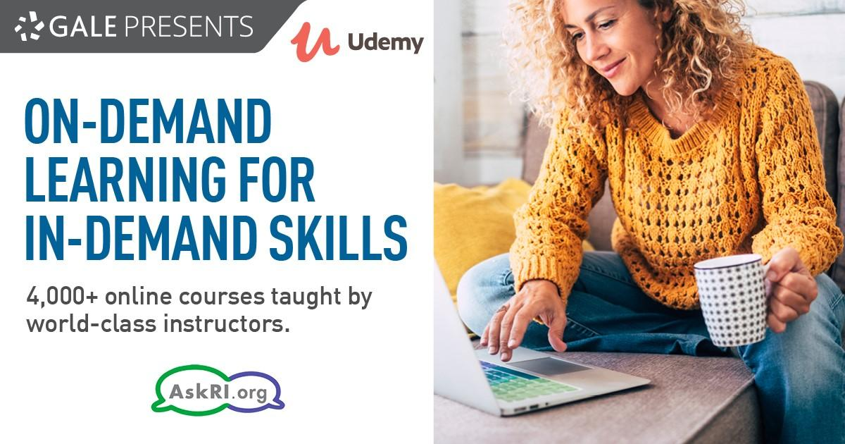Udemy on demand learning website information